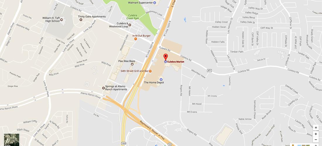 Culebra Market Google Map