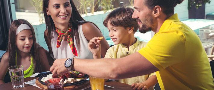 Family Dinner in San Antonio at Culebra Market